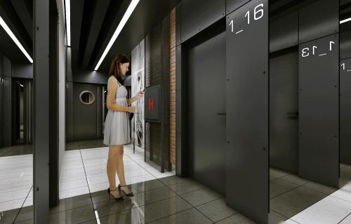 Wizualizacje wnętrza budynku