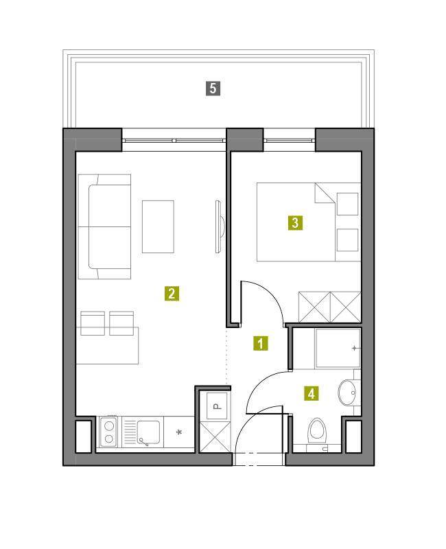 Apartament 0.L6