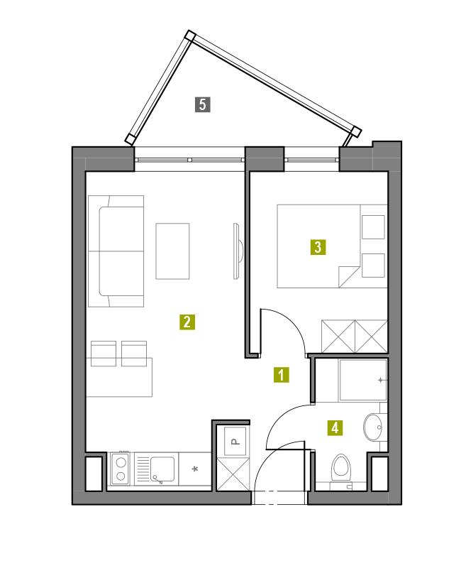 Apartament 3.L1